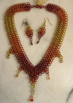 O mundo do chainmaille (chainmail)